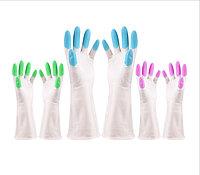 Перчатки гелевые с кружевами.