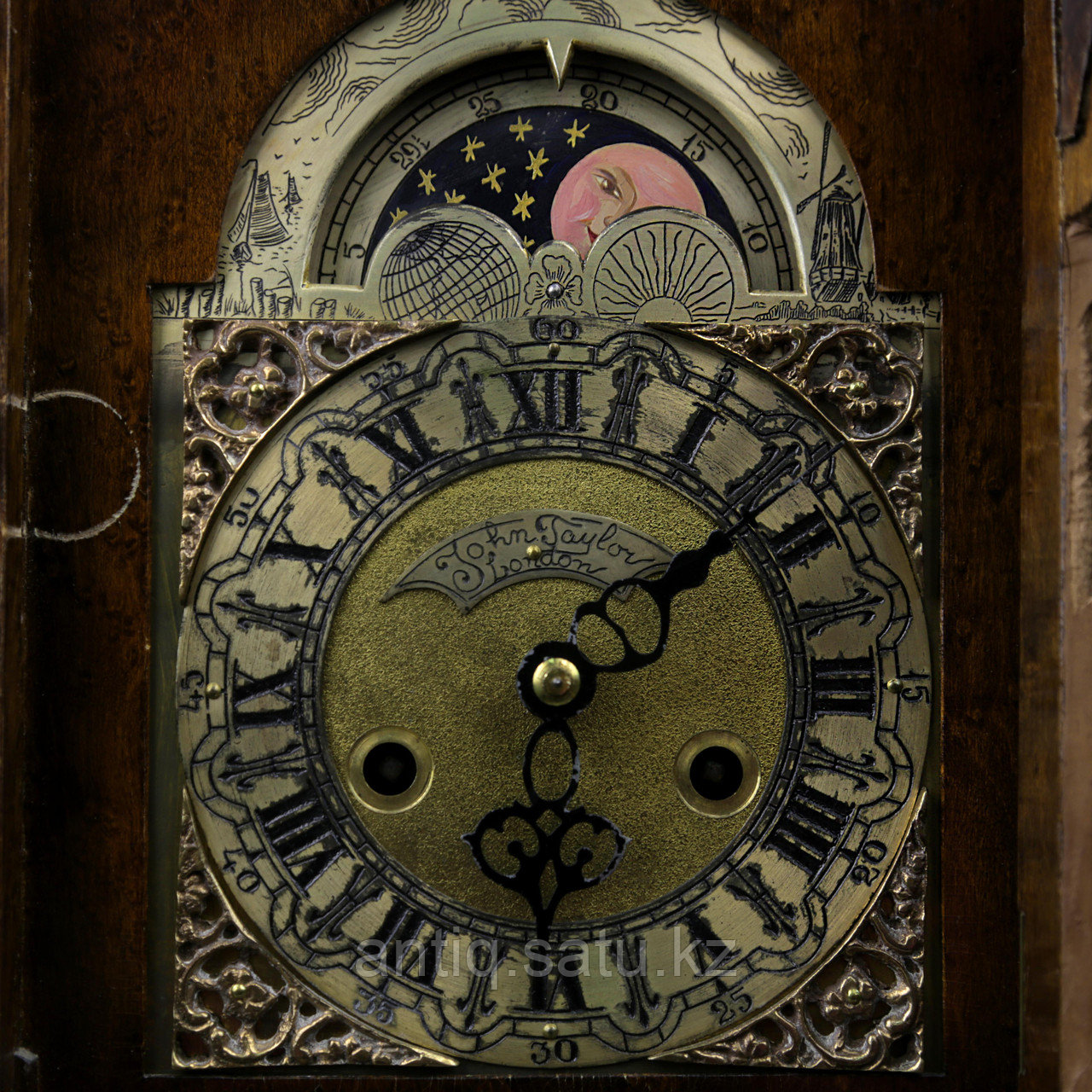Настольные часы. Англия, Лондон. Середина ХХ века. - фото 6