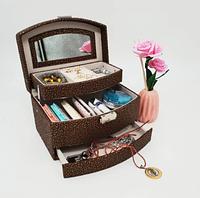 Бьюти кейс для хранения косметики и украшений
