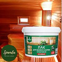 Лак для бани и сауны термостойкий,  PROSEPT артикул 054-2 (до 20 м2) 2,0 л