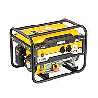 Генератор бензиновый PS 33, 3.3 кВт, 230 В, 15 л, ручной стартер Denzel