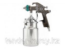 Краскораспылитель AS 802 HVLP, профессиональный, всасывающего типа, сопло 1,4 мм Stels