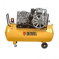 Компрессор DR5500/200, масляный ременный, 10 бар, производительность 850 л/м, мощность 5.5 кВт Denzel