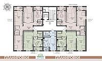2 комнатная квартира в ЖК ArmanTau Comfort 78 м², фото 1