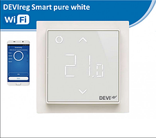 Программируемый терморегулятор DEVIreg Smart с Wi-Fi Белый