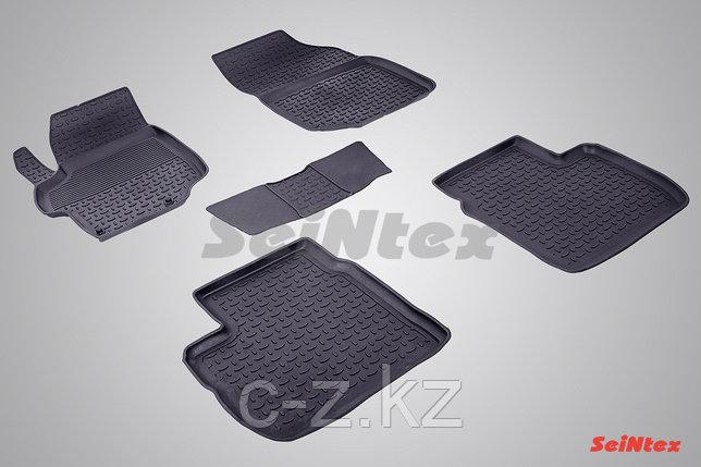 Резиновые коврики с высоким бортом для Peugeot 301 2013-н.в., фото 2
