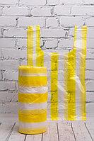 Фасовка майка полосатая желтая