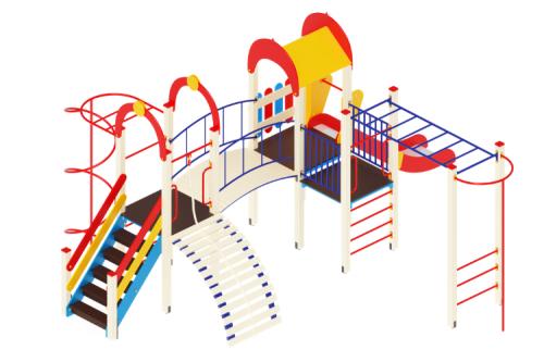 Игровые комплексы для детских и спортивных площадок