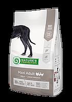 NP Maxi Adult Breeder bag корм для взрослых собак крупных пород, курица, индейка и утка, 4 кг.