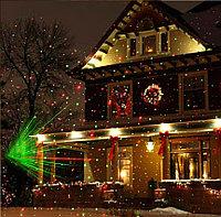 Лазерный проектор новогодний уличный с пультом.