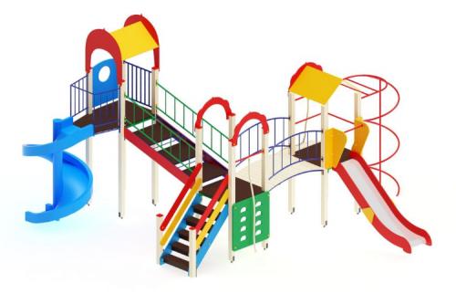 Детский игровой комплекс «Городок» H=1200, 2000