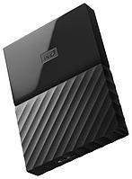 "Внешний жесткий диск HDD HDD Western Digital 2Tb My Passport 2.5"" WDBLHR0020BOR-EEUE 2.5', USB 3.0. Толщина"