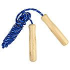 Скакалка с деревянными ручками, 2,55 м, цвета МИКС, фото 3