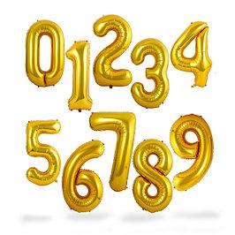 Надувные шары цифры