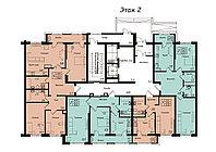 2 комнатная квартира в ЖК Jeruiyq 62.02 м², фото 1
