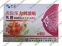 Пластыри от мастопатии Breast Care (в упаковке 4 пластырей )