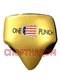 Боксерский бандаж ONE PUNCH (золотой) размер L