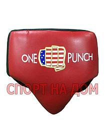 Боксерский бандаж ONE PUNCH (красный) размер L