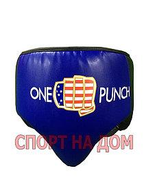 Боксерский бандаж ONE PUNCH (синий) размер М