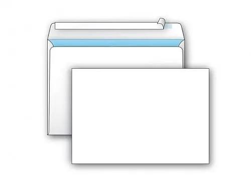 Конверт С4 KurtStrip (229 х 324 мм, белый, удаляемая лента, внутренняя запечатка)