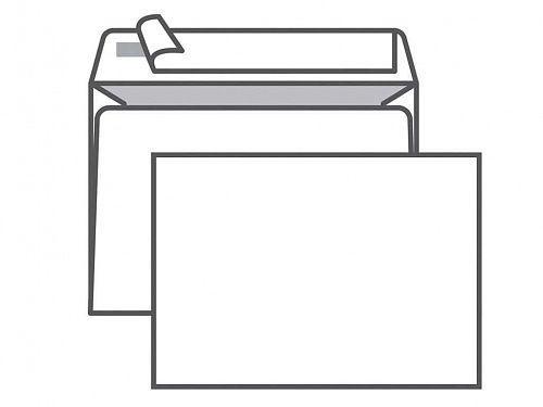 Конверт С6 KurtStrip (114х162 мм, белый, удаляемая лента, внутренняя запечатка)