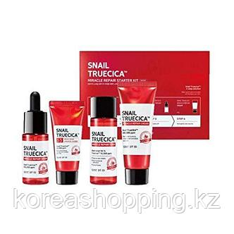 Восстанавливающий набор миниатюр Some By Mi Snail Truecica Miracle Repair Starter Kit Edition, фото 2