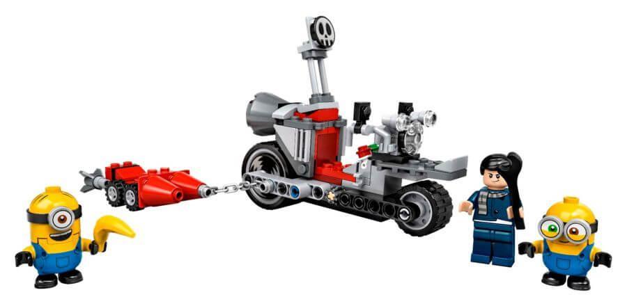 LEGO: Невероятная погоня на мотоцикле Minions 75549