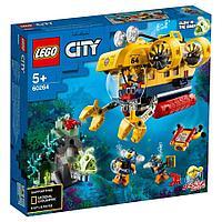 Лего сити LEGO Океан исследовательская подводная лодка CITY 60264