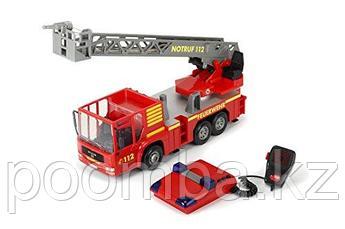 Пожарная машинка MAN 37 см свет звук фрикционный ход водяной насос  Dickie Toys