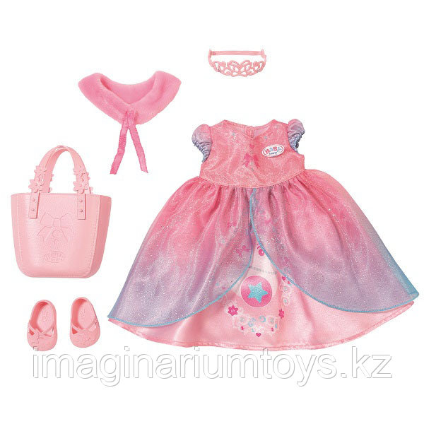 Платье для куклы Baby Born набор Одежда для принцессы