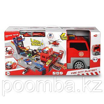 Набор Складная пожарная машина, 49 см свет звук  Dickie Toys