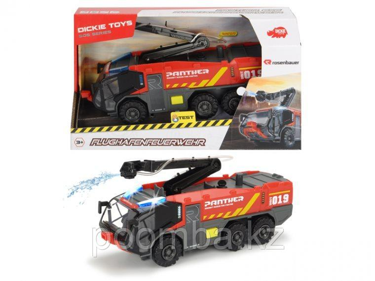 Пожарный Аэродромный автомобиль 62 см свет звук  Dickie Toys