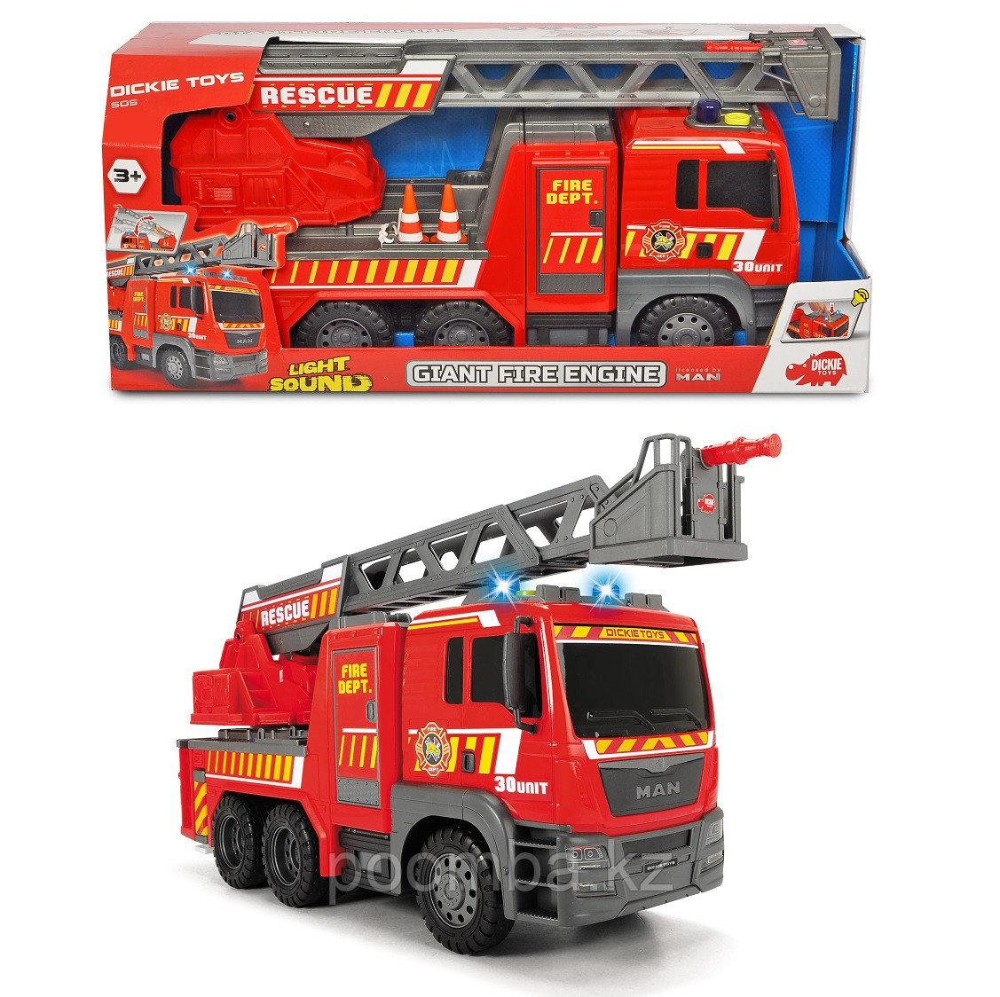 Пожарная машинка MAN 54 см свет звук Dickie Toys