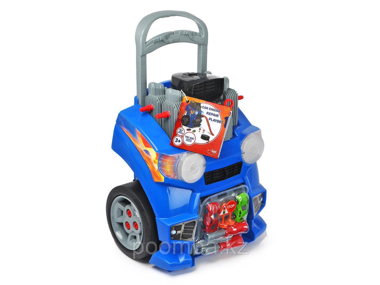 Набор Ремонт автомобиля, 42 см свет звук Dickie Toys