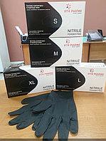 Перчатки нестерильные, смотровые Нитриловые