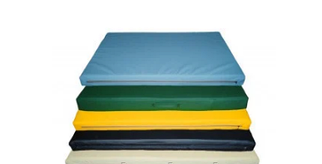 Гимнастические маты (100х200х10 см), кожзам.