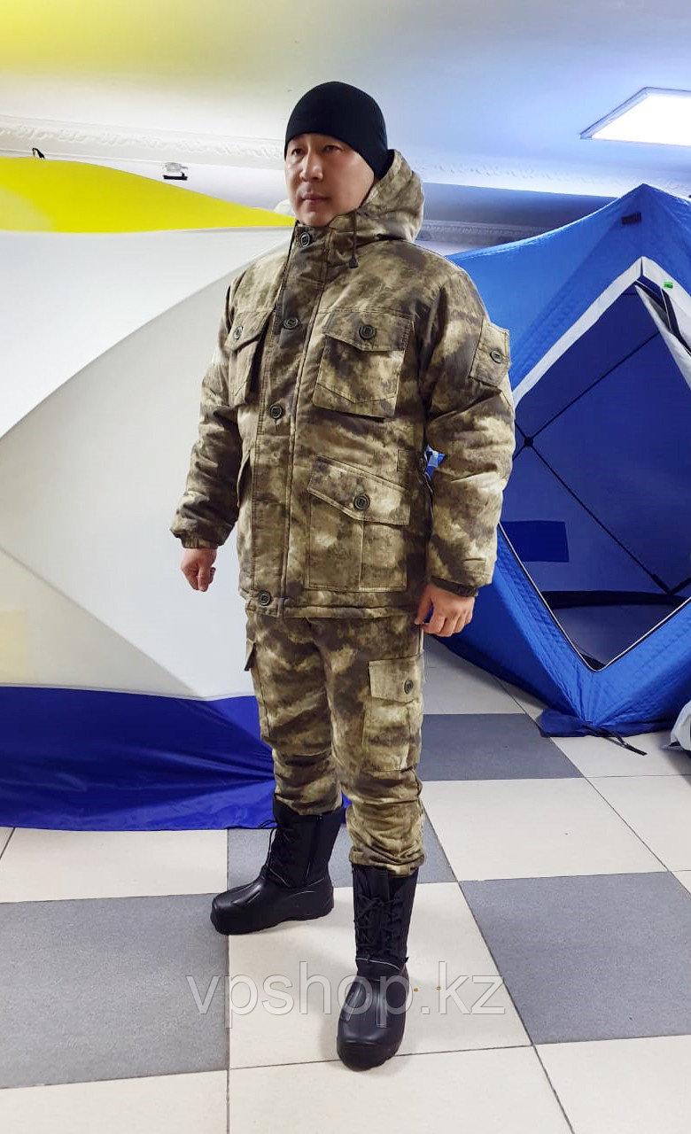 """Теплый зимний костюм для охоты и рыбалки """"Gray"""""""