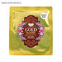 Гидрогелевая маска для лица Koelf «Золото и пчелиное маточное молочко»