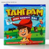 Магнитная игра «Танграм. Мир вокруг нас»