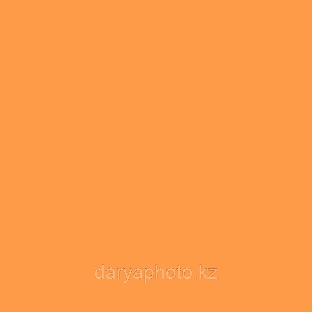 Оранжево желтый (апельсиновый) Фон бумажный. Фотофон. Фон для фотостудии