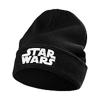 Шапка с люминесцентной вышивкой Star Wars, черная, фото 1