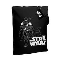 Холщовая сумка Mandalorian, черная, фото 1