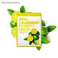 Тканевая маска для лица FarmStay с экстрактом каламанси
