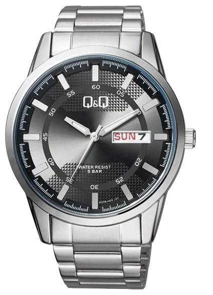 Японские наручные часы Q&Q A208-202. Гарантия. Kaspi RED. Рассрочка.
