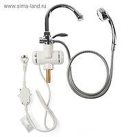 Водонагреватель UNIPUMP BEF-001-03 - (душ+кран), проточный, 3 кВт, 1.3 л/мин