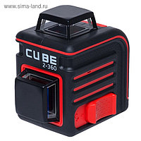 Лазерный уровень ADA Cube 2-360 Home Edition А00448, 20/70 м, ±3 мм/10 м, ±4°, 2х360°