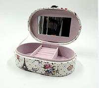 Бьюти-кейс для хранения косметики и украшений