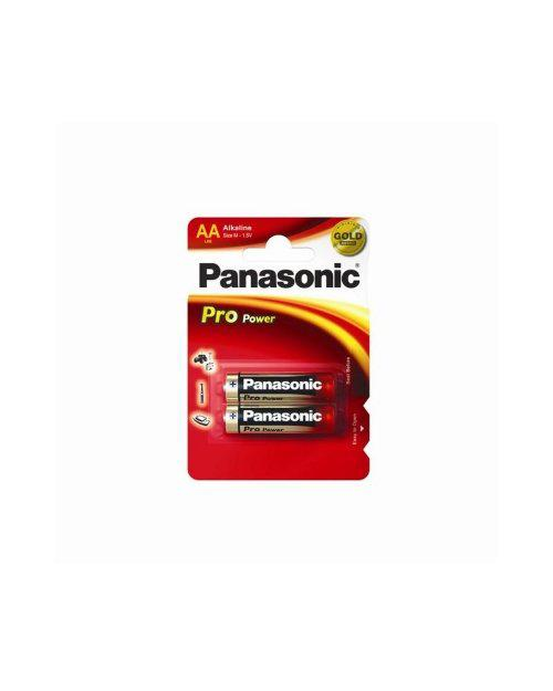 Panasonic LR6XEG/2BP Батарейка щелочная Pro Power AA (2 ед/упак)
