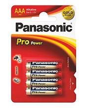 Panasonic LR03XEG/4BP Батарейка щелочная Pro Power AAA (4 ед/упак)