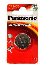 Panasonic CR2450/B1 Батарейка дисковая литиевая